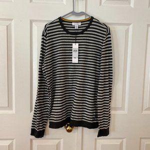 Calvin Klein Men's Striped Pullover Sweater Sz lr